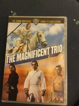 THE MAGNIFICENT TRIO  SHAW BROTHERS KUNG FU COLLECTION  -  DVD in Okinawa, Japan