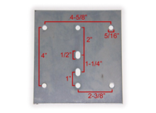 3 New Metal E-Track Backing Plate in Aurora, Illinois