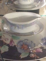 Mikasa Charisma Gray Gravy Boat With Under Plate - Fine China in Ramstein, Germany