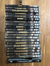 21 James Bond Special Edition movies in Ramstein, Germany