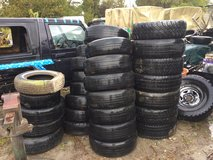 Wanted: Someone to haul off some old tires in Camp Lejeune, North Carolina