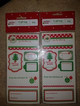 NEW Christmas bake good labels in Fort Drum, New York