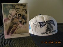 Autographed Cap and Photo--Daryl Johnston in Livingston, Texas