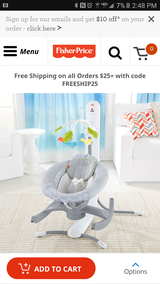 Fisher Price 4 in 1 Swing in Sandwich, Illinois