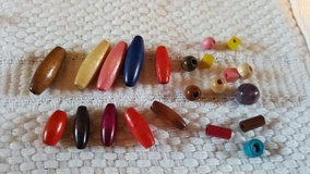 Assorted Wooden Beads in Wheaton, Illinois