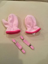 Toddler mittens & clips...size 2-4T in Aurora, Illinois