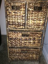"4 Wicker Drawer like new 41"" x 77"" in Fort Irwin, California"