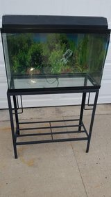 Black / 29 Gallon Fish Tank Stand Set in Fort Campbell, Kentucky