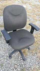 Charcoal Gray / Office Chair in Fort Campbell, Kentucky