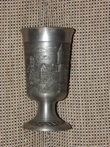 RARE Pewter Goblet of Nürnberg Castle in Stuttgart, GE