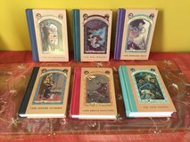 Lot of 6 hardcover  books of A Series of Unfortunate Events in Joliet, Illinois