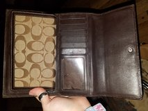 Coach wallet check book cover in Fort Campbell, Kentucky