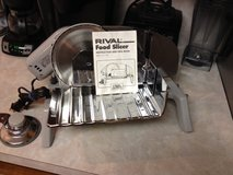 Rival Electric Food Slicer Made in USA Like New in Tomball, Texas