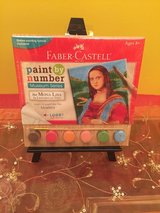 Paint by Number Museum Series - The Mona Lisa by Faber-Castell in Morris, Illinois