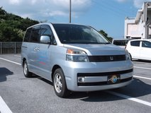 2004 TOYOTA VOXY Side lift up seat Silver#8643 in Okinawa, Japan