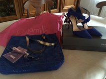 Vince Camuto hills & Matching Purse in Ramstein, Germany