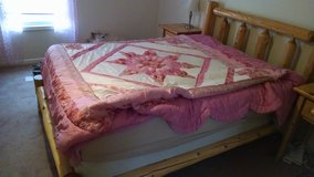 Queen bed frame in Fort Leonard Wood, Missouri