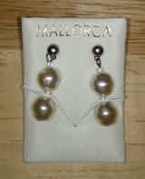 Mallorcan Pearl Earring brought back from Spain in Byron, Georgia