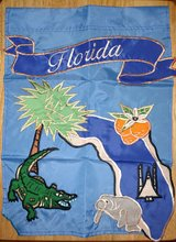"Florida Garden Flag (13""x18"") in Warner Robins, Georgia"