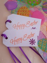 10 Easter Treat Bags With Tags Handmade in Ramstein, Germany