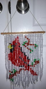 Handmade Beaded Cardinal Suncatcher in Macon, Georgia