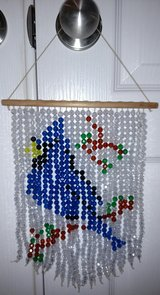Handmade Beaded Bluejay Suncatcher in Warner Robins, Georgia