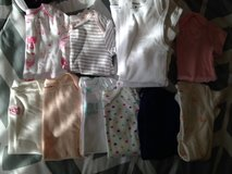 Never worn 9 month girl clothes in Fort Drum, New York