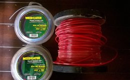 3 full spools weed eater line in Hemet, California