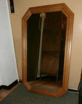 Wooden dresser with mirror in Ramstein, Germany