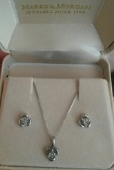 Diamond earrings and necklace set in Columbia, South Carolina
