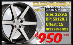 Wheels and tires in Riverside, California