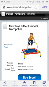 Alex little jumpers trampoline in Joliet, Illinois