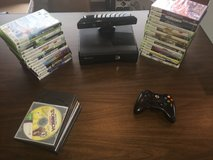 Xbox 360 With Kinect, Wireless Controller, and 40 games in Fort Leonard Wood, Missouri