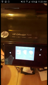 Printer hp office jet in Oceanside, California