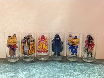 McDonalds collector series glasses (set of 6) in Naperville, Illinois