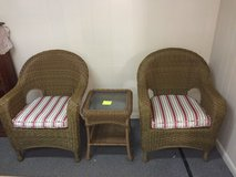 Rattan furniture 3 piece set in Fort Knox, Kentucky