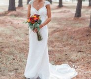 WEDDING Dress - Ivory: Maggie Sottero Brandy Sz4 (Street Sz 2) in Fort Bragg, North Carolina