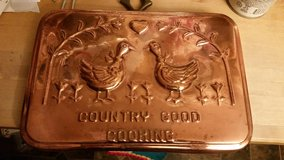 Copper / Country Good Cooking Wall Hanging in Fort Campbell, Kentucky
