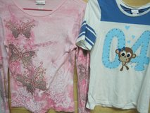 FREE:  2 tween girl tops, sizes 14 and 16, Justice and Limited Too in Houston, Texas