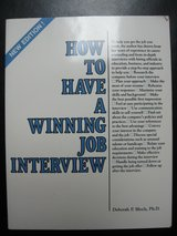 FREE Book: How to Have a Winning Job Interview in Houston, Texas