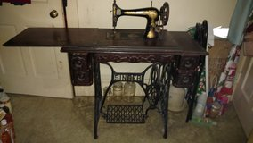 Singer treadle sewing machine in Dover AFB, Delaware