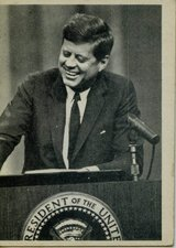 John F. Kennedy 1964 Trading Cards in Okinawa, Japan