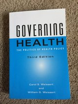Governing Health: the Politics of Healthy Policy 3rd edition in Travis AFB, California