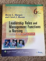 Leadership Roles & Management Functions in Nursing 6th edition in Travis AFB, California