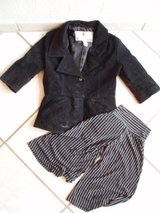 leather pirate coat and pants size 5-6 Halloween Fasching costume dress up in Stuttgart, GE