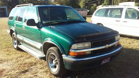1998 CHEVY BLAZER RUNS GOOD 2200 in Fort Rucker, Alabama