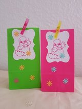 6 Easter Treat Bags With Tags Handmade 3.5 x 6.5 inches in Ramstein, Germany