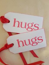 10 Valentine Gift Tags Handmade in Ramstein, Germany