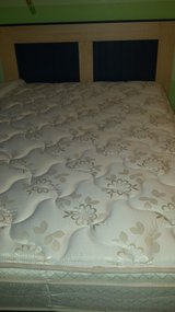 full size headboard with mattress set from Ashley furniture store in Wilmington, North Carolina