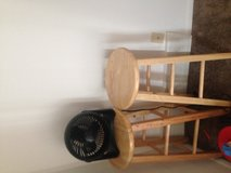 stools and fan in Cleveland, Ohio